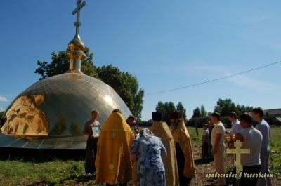 Крест Христов над селом – 2010